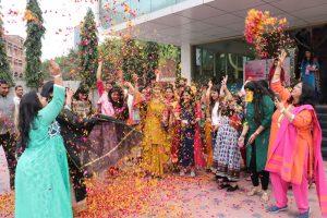 Womens day and Holi Celebration